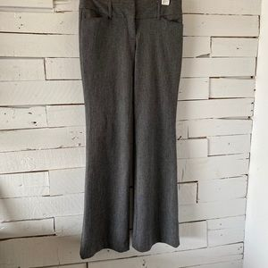 Express Editor Low Rise Flare Dress Pants Size 2R